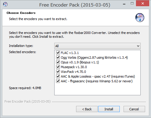 how to use lame encoder with foobar