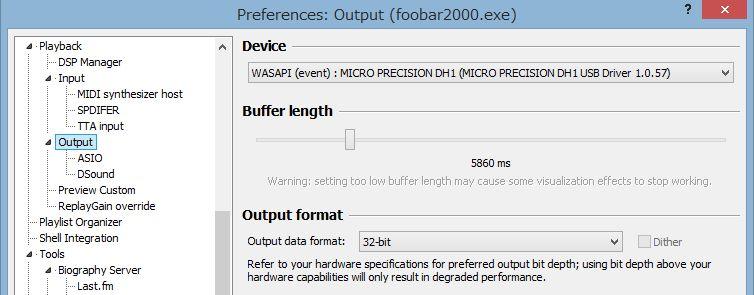 Output - foobar2000 Wiki
